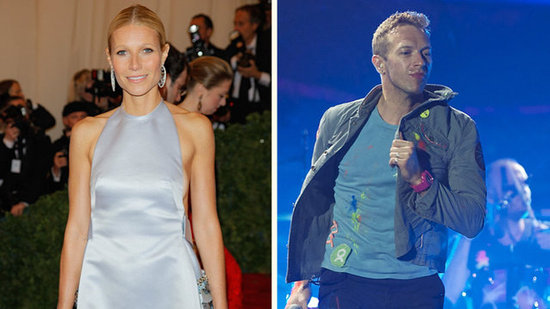 Video: See Gwyneth and Chris's Surprise Concert Kiss!