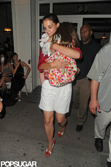 Katie Holmes Gets a Sweet Treat With Suri in the Big Apple
