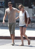 Emily VanCamp and Joshua Bowman had brunch together in LA.