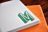 Custom Personalized Letterpress Stationary