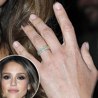 A Great Manicure Idea From Jessica Alba