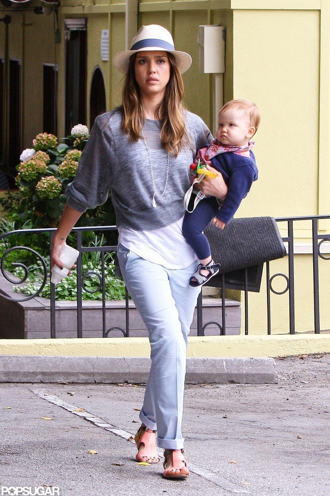 Jessica Alba was out with Haven Warren on Independence Day.