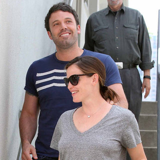 Ben Affleck and Jennifer Garner Smiling Pictures