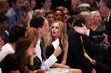 Kate Bosworth sat front row for the Hugo by Hugo Boss fashion show in Berlin, Germany.