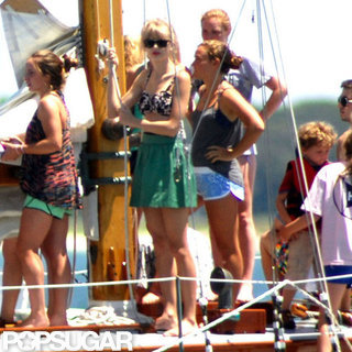 Taylor Swift With Kennedys on Fourth of July