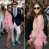 Olivia Palermo Wearing Pink Valentino July 2012
