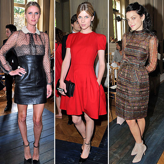 It's a Celebrity Tour de Force at Couture Fashion Week — See Every Look