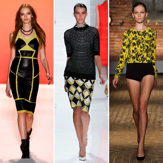 How to Wear Black and Yellow Together