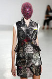 Masks and Veils Cover Couture Fall 2012 Fashion Week