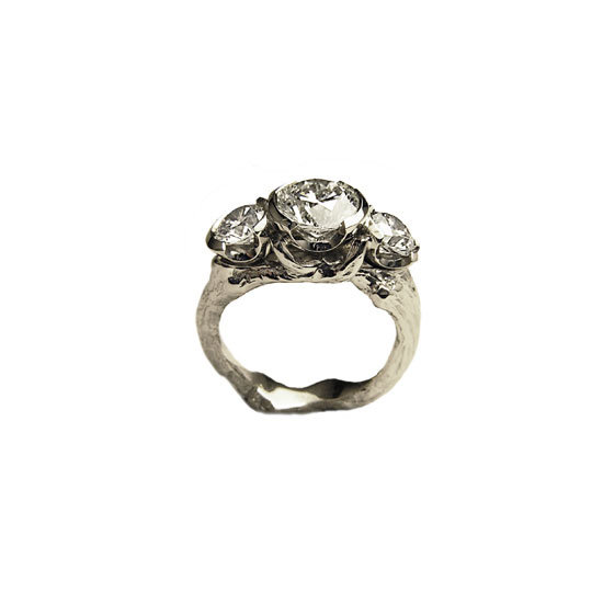 Rosebowl diamond ring $28,000, Melissa Harris