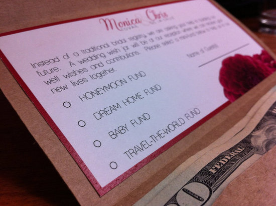 Money For Wedding Gift Wording : ... money gifts 2014 01 18 how to word wedding invitations for money gifts