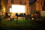 How to Make an Outdoor Movie Theater at Home