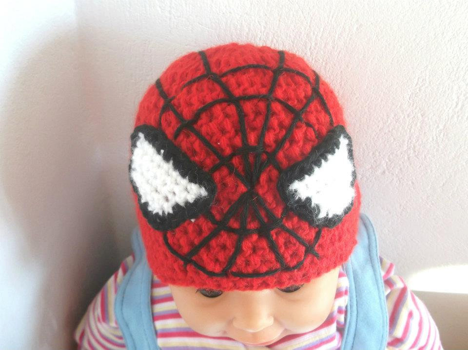 Spider-Man Crochet Hat Pattern ($3)