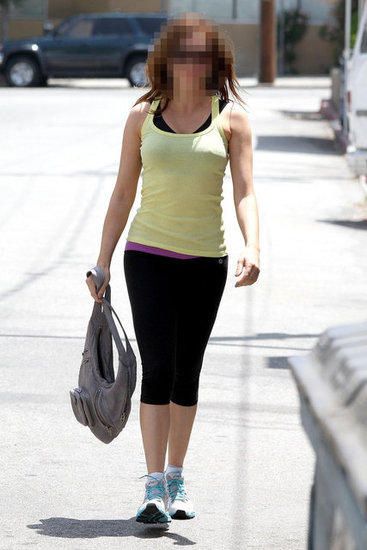 Guess Which Former TV Witch Was Spotted Postsweat Sesh?
