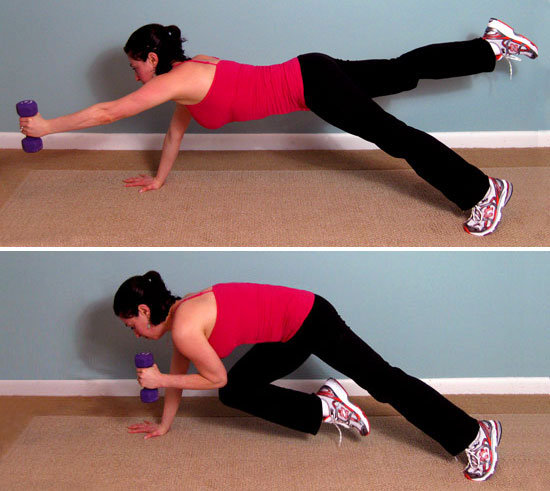 Plank Arm and Leg Extension