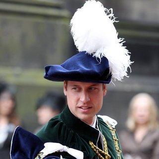 Prince William Thistle Ceremony Pictures