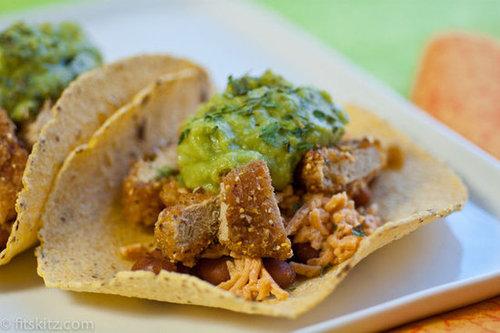 Vegan Corn Tortilla Tacos