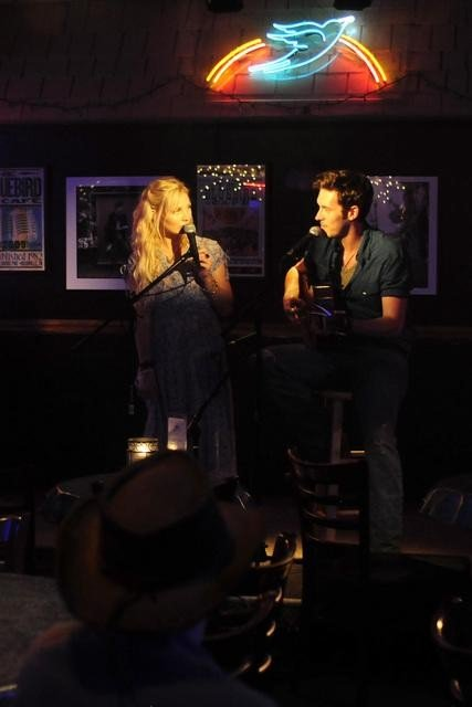 Clare Bowen and Sam Palladio on Nashville. Photo copyright 2012 ABC, Inc.