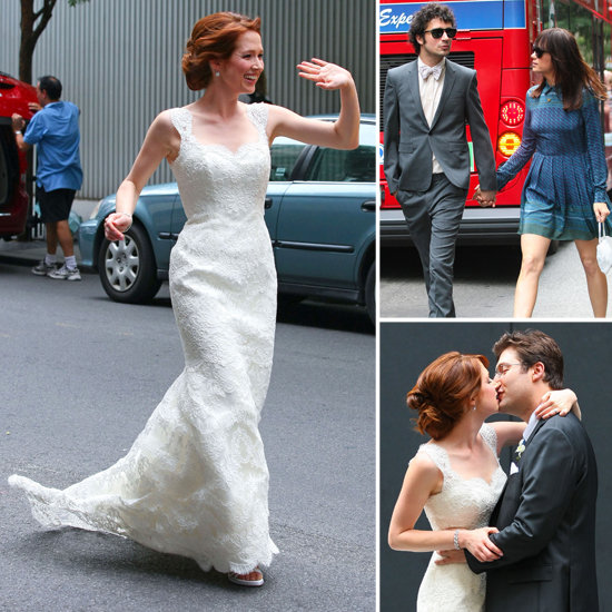 Ellie Kemper's Wedding Pictures!