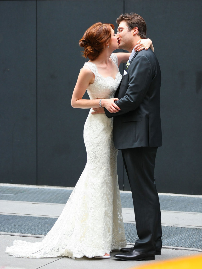 Ellie Kemper got married to Michael Korman in NYC in July.