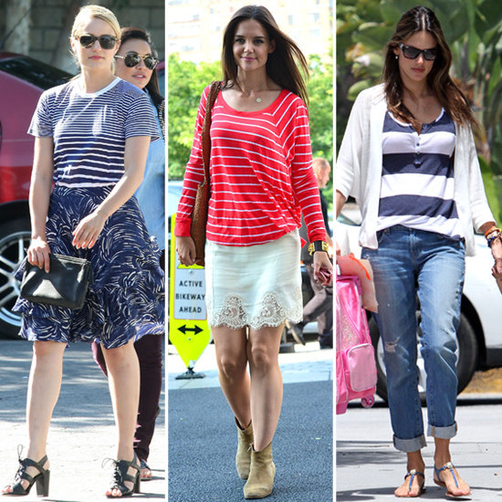 5 Fresh Celebrity-Inspired Ways to Wear Stripes This Summer