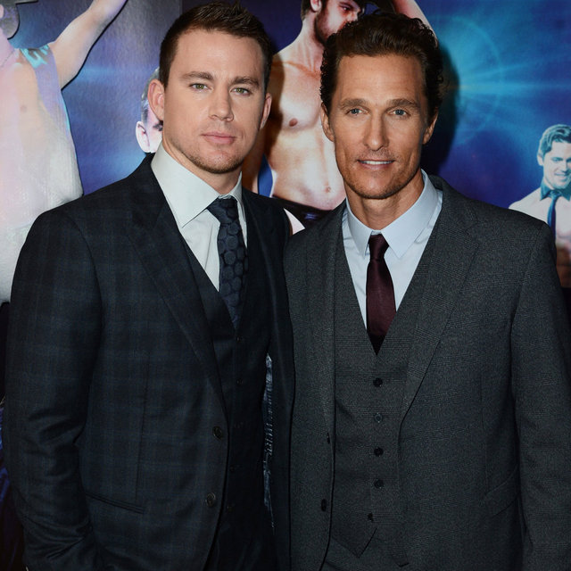 Channing Tatum and Matthew McConaughey Attend the Premiere Magic Mike in London