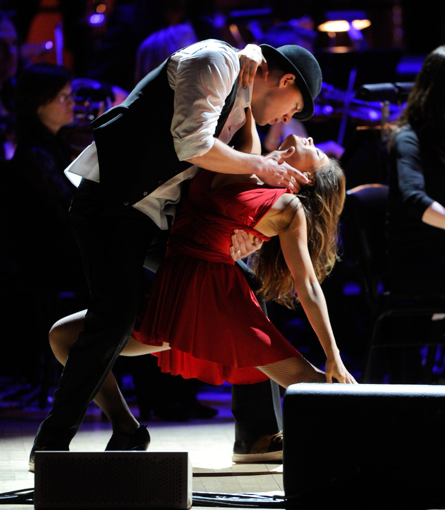 Channing Tatum and Jenna Dewan showed off their dance skills at a Rainforest Fund concert in April 2012 in NYC.
