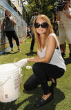 Nicole Richie was ready to get dirty at the Bing Summer of Doing Event in NYC.