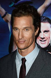 Matthew McConaughey put on a suit for the Magic Mike premiere in London.
