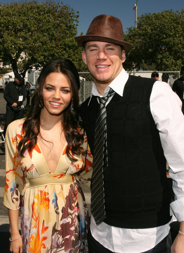 Channing and Jenna attended the 2007 Independent Spirit Awards together.