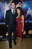 Channing Tatum posed with wife Jenna Dewan at the Magic Mike premiere in London.