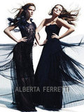 Ultrasheer details rule Alberta Ferretti Fall 2012.