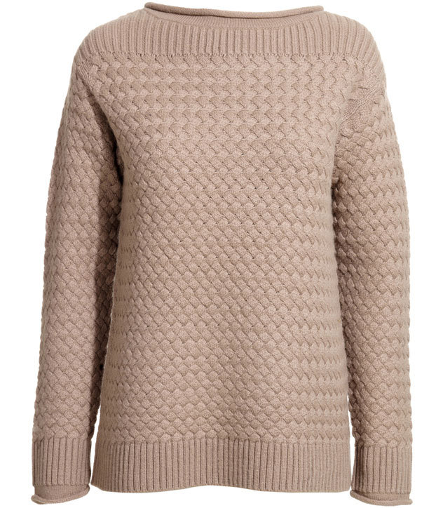 Cool breezes and moody coastal weather don't stand a chance against a supertextured topper. For a cool-girl touch, roll the sleeves to give an undone edge to this polished layer. Reiss Clarsey Textured Stitch Jumper ($155, originally $230)