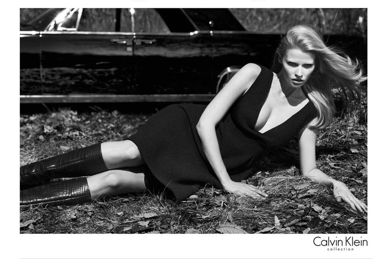 Does it get any sexier than Lara Stone in Calvin Klein's Fall '12 ads?