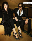 Jimmy Choo struck a 1970s chord with its Fall campaign.