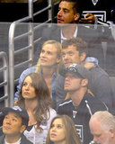 In June 2012, Diane Kruger and Joshua Jackson enjoyed the Stanley Cup final game in LA.