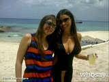 Sofia Vergara partied with friends in Mexico for her 40th birthday. Source: Sofia Vergara on WhoSay