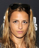 Charlotte Ronson wore sunglasses on her head at the Shut Up & Play the Hits screening in NYC.