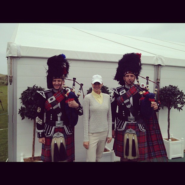 Ivanka Trump traveled to Scotland. Source: Instagram user ivankatrump