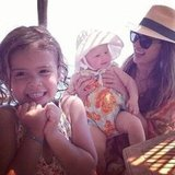 Jessica Alba enjoyed her Italian vacation with her little ones, Honor and Haven, in July. Source: Instagram user jessicaalba