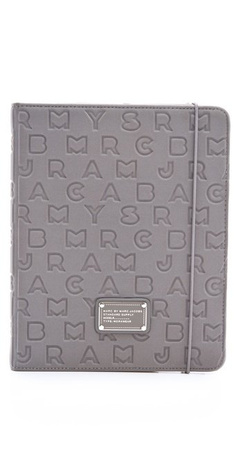 Marc by Marc Jacobs Dreamy Logo Neoprene Tablet Book ($98)