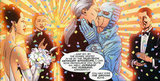 DC Comics' Midnighter and Apollo While Batman and Superman may not get together in an official sense, their modern counterparts Midnighter and Apollo from rogue superhero team The Authority do —even getting married in 2002's graphic novel Transfer of Power. Source: DC Comics