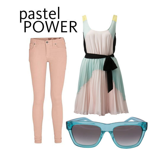 Yes, You Can Wear Pastels in Winter! Here's How:
