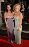 Hayden Panettiere and Olivia Munn were all smiles on the ESPY red carpet.