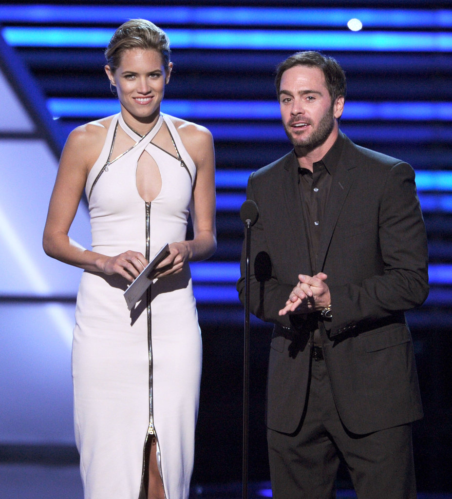 Cody Horn and Jimmie Johnson presented the award for best comeback athlete of the year.