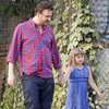 Jason Segel and Matilda Ledger Pictures