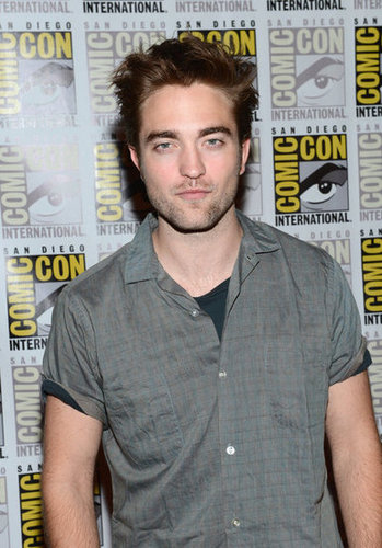 Robert Pattinson had longer hair.