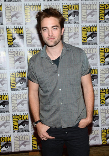 Robert Pattinson went to Comic-Con.