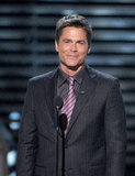 Rob Lowe presented the perseverance award.
