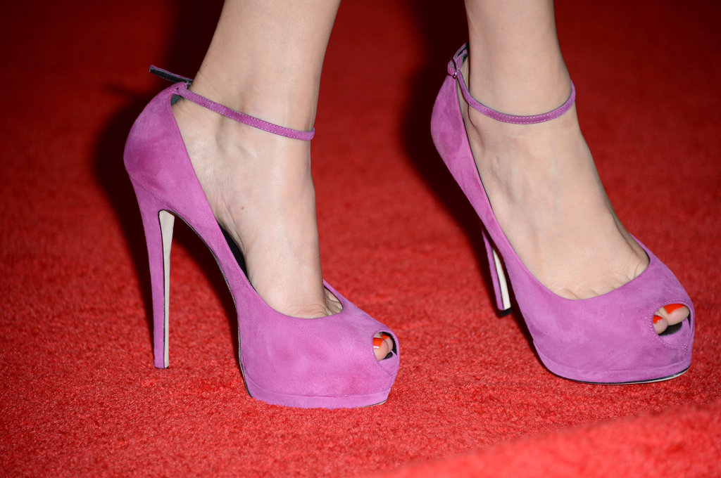 Are you a fan of Michelle's bold Giuseppe Zanotti heels?